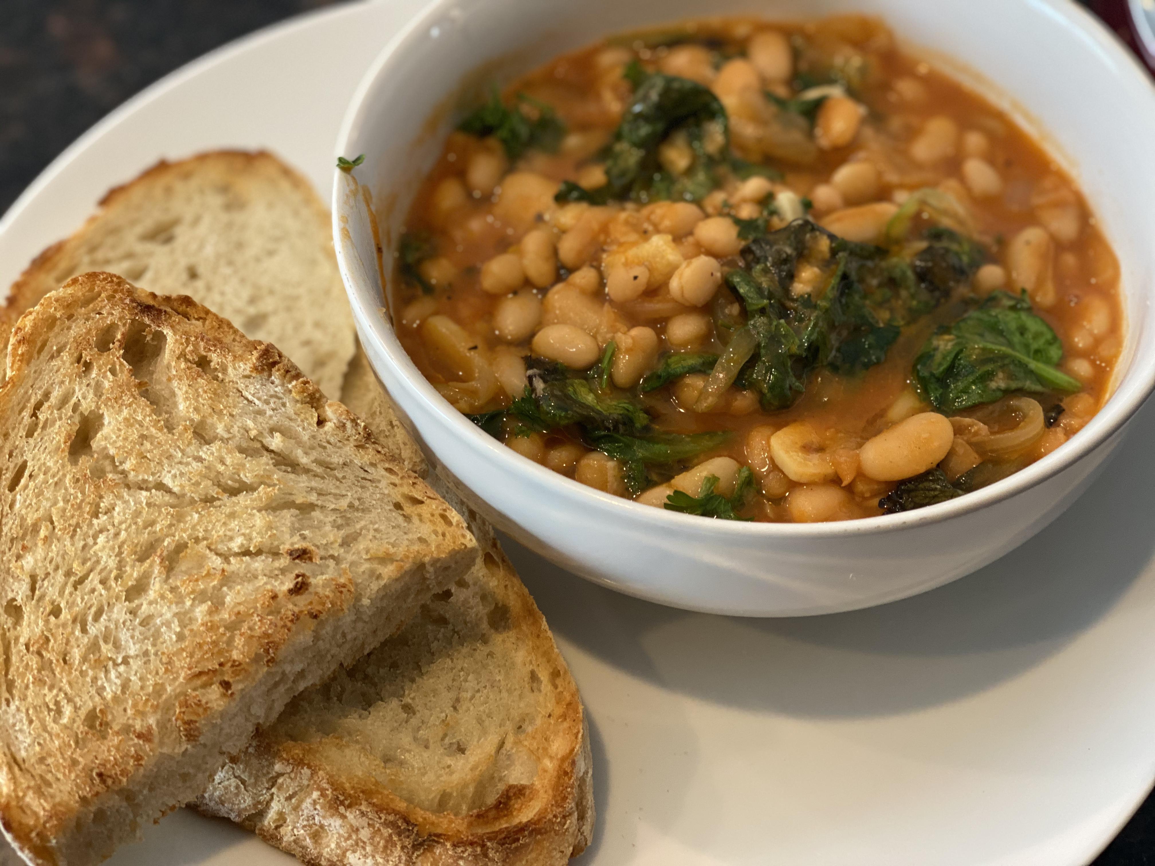 Alison's Roman Spicy Bean Stew